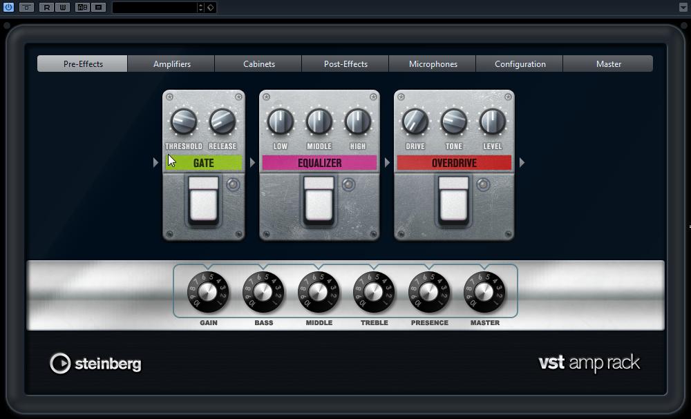 VST Amp Rack