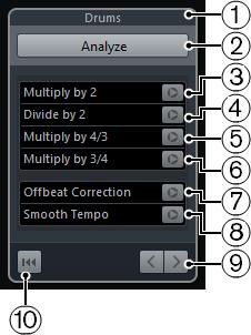 cubase 9 elements tempo detection