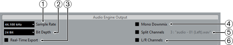 Audio Engine Output