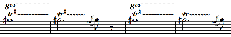 Trill intervals